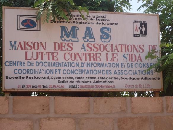 La formation s'est déroulée à la Maison des Associations de lutte contre le Sida (M.A.S) à Bobo-Dioulasso